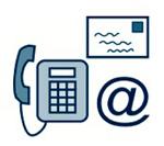 Contact iconen